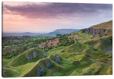 The Escarpment Canvas Art Print
