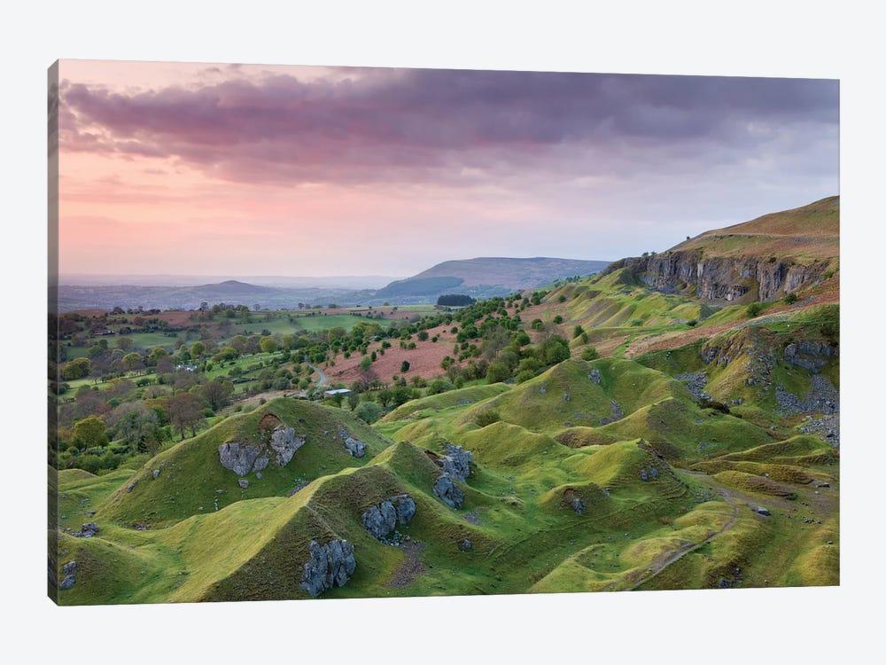 The Escarpment by Adam Burton 1-piece Canvas Artwork