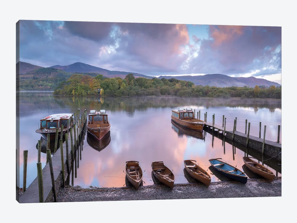All The Boats by Adam Burton 1-piece Canvas Print