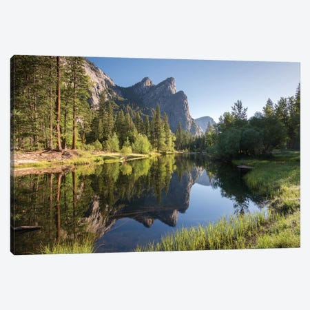 The Three Brothers Canvas Print #ABU51} by Adam Burton Canvas Wall Art