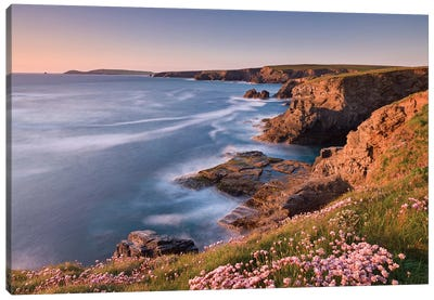 Towards Trevose Head Canvas Art Print