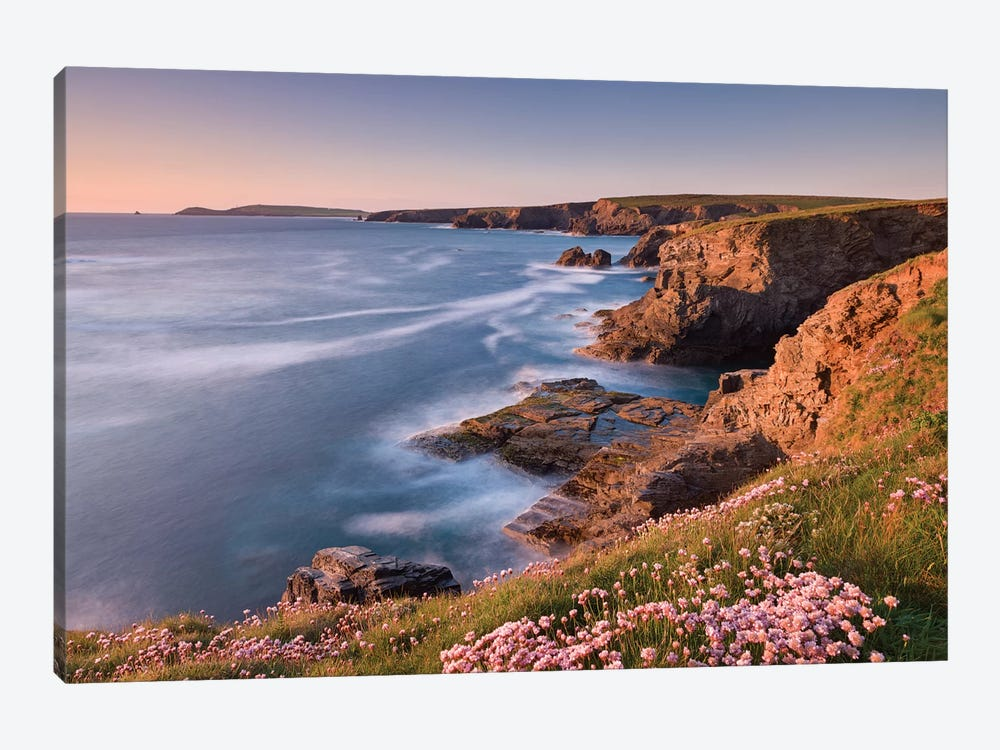 Towards Trevose Head by Adam Burton 1-piece Art Print