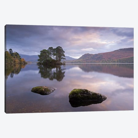 Tranquil Morning Canvas Print #ABU54} by Adam Burton Canvas Art Print