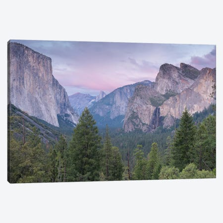 Tunnel View Canvas Print #ABU56} by Adam Burton Canvas Art Print