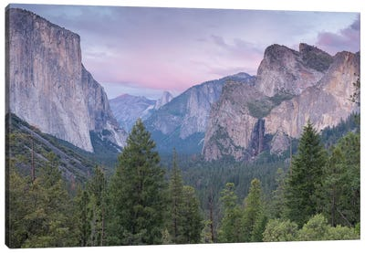 Tunnel View Canvas Art Print
