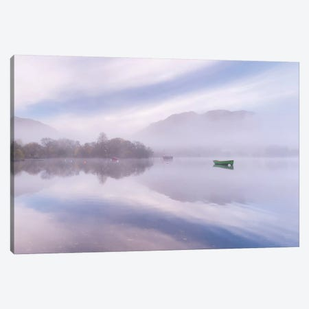 Ullswater Morning Canvas Print #ABU58} by Adam Burton Canvas Wall Art