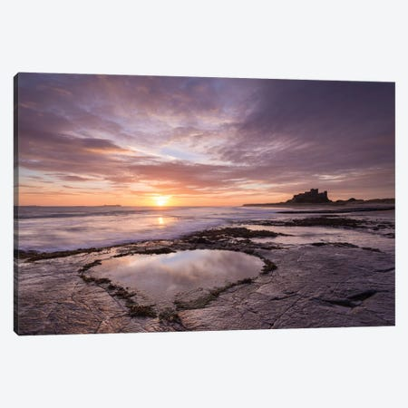 Valentines Beach Canvas Print #ABU60} by Adam Burton Canvas Art Print