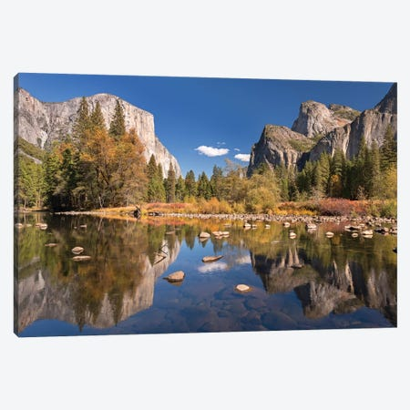 Valley View Canvas Print #ABU61} by Adam Burton Canvas Print