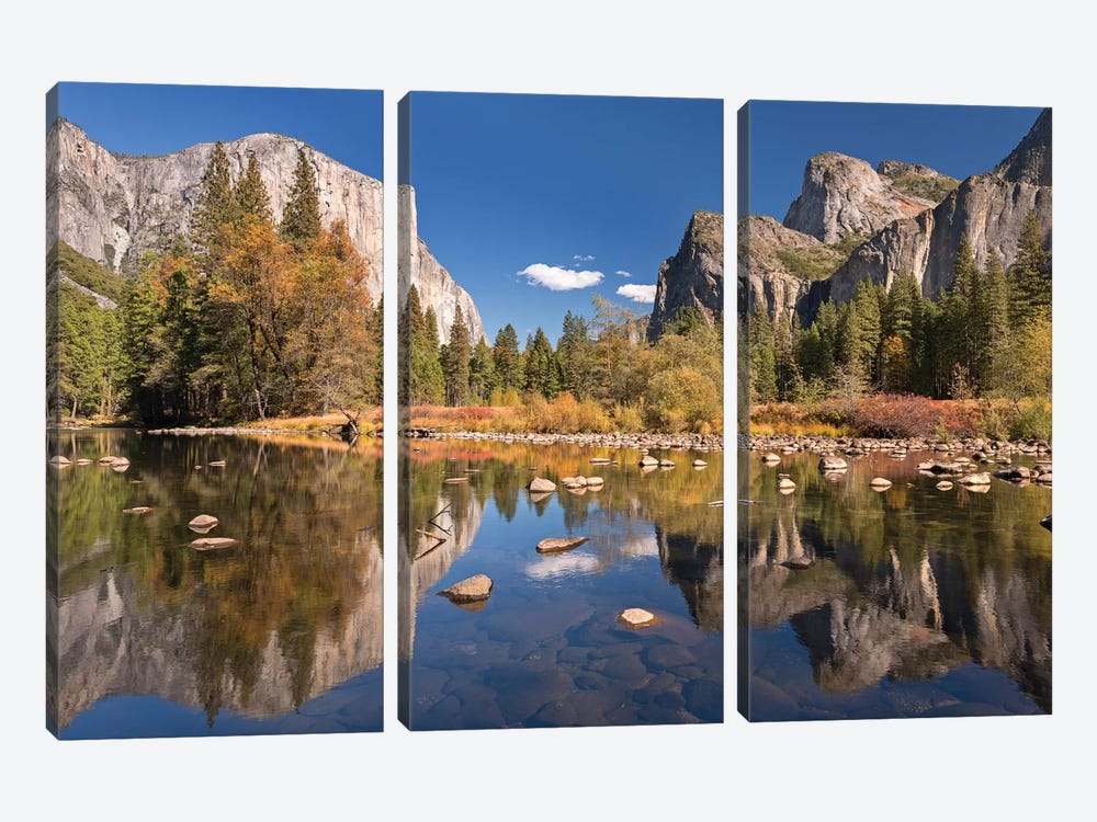 Valley View by Adam Burton 3-piece Canvas Wall Art