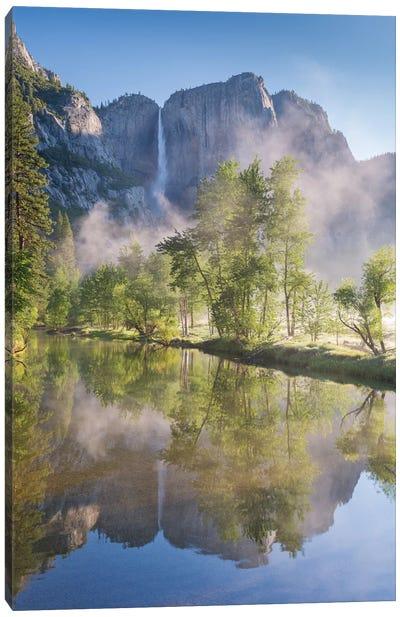 Yosemite Falls Canvas Print #ABU62