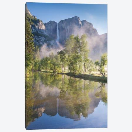 Yosemite Falls Canvas Print #ABU62} by Adam Burton Art Print