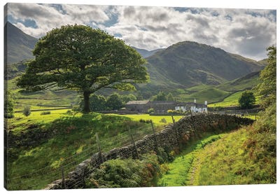 Approaching The Shire Canvas Art Print