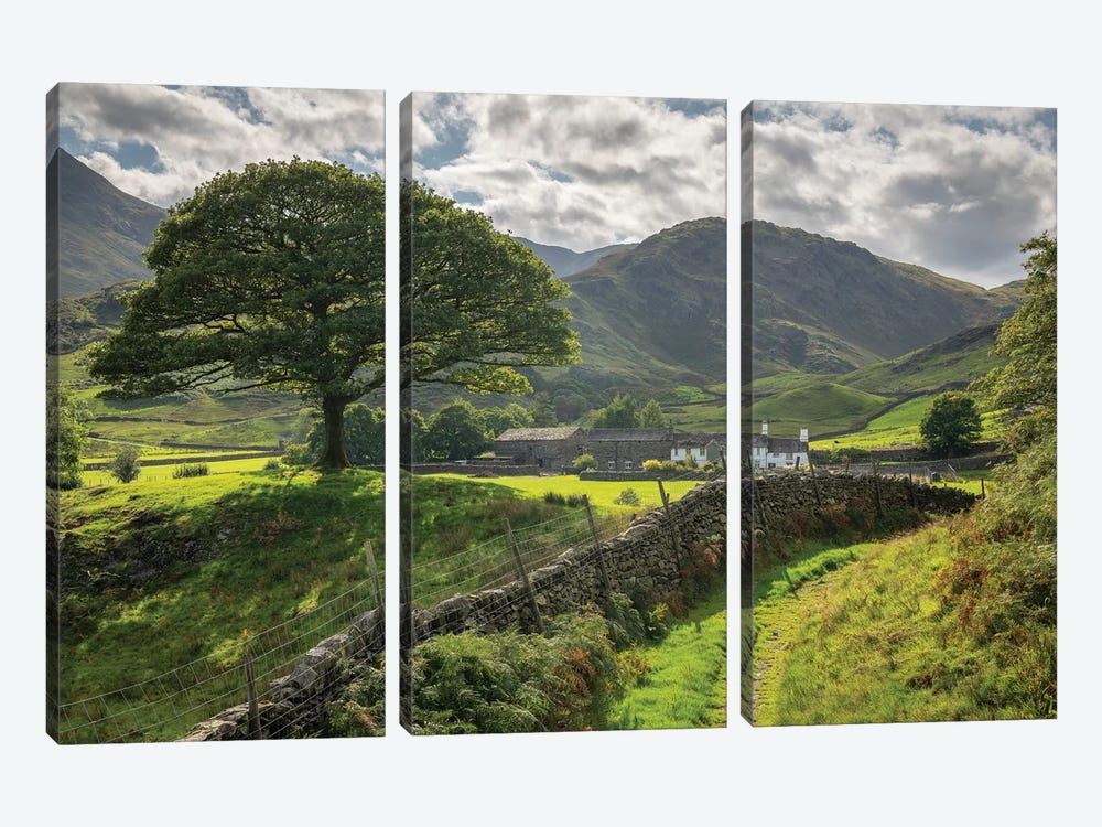 Approaching The Shire by Adam Burton 3-piece Canvas Art