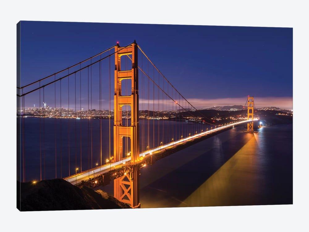 Golden Gate Bridge by Adam Burton 1-piece Art Print