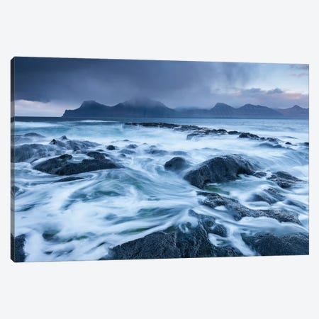 Brewing Storm Canvas Print #ABU7} by Adam Burton Canvas Print