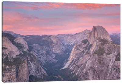 Half Dome From Glacier Point Canvas Art Print