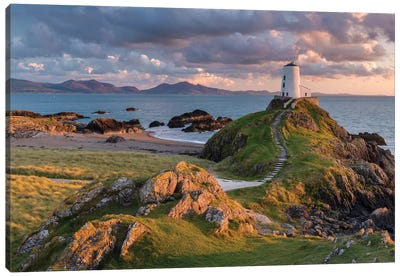 Llanddwyn Lighthouse Canvas Art Print