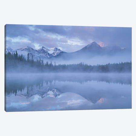 Moods Of The Rockies Canvas Print #ABU86} by Adam Burton Canvas Artwork