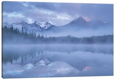 Moods Of The Rockies Canvas Art Print
