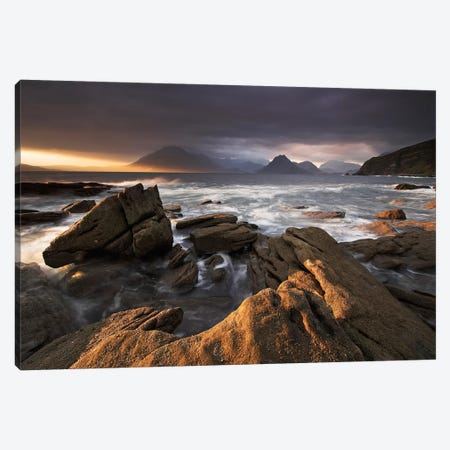 Coast of Wonders II Canvas Print #ABU8} by Adam Burton Canvas Artwork