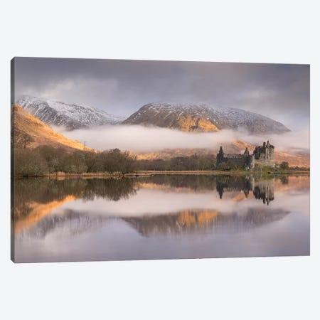 Outlander's Castle Canvas Print #ABU95} by Adam Burton Canvas Art Print