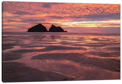 Poldark Sunset Canvas Art Print