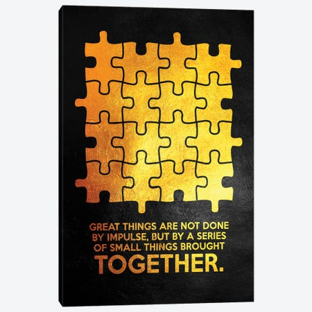 Together Canvas Print #ABV1011} by Adrian Baldovino Canvas Art