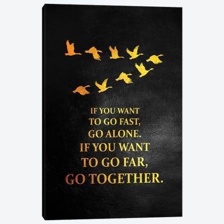 Go Together Canvas Print #ABV1047} by Adrian Baldovino Canvas Artwork