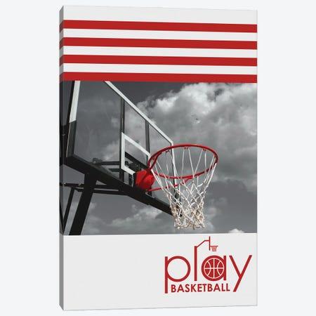 Play Basketball Canvas Print #ABV1164} by Adrian Baldovino Canvas Art Print