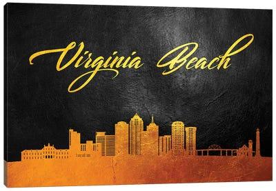 Virginia Beach Skyline Canvas Art Print