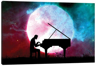 Midnight Sonata Canvas Art Print