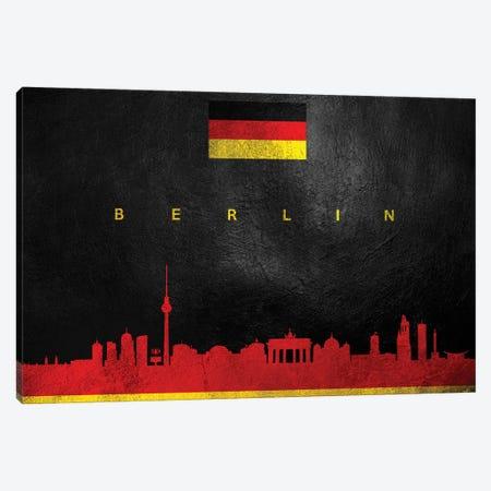 Berlin Germany Skyline Canvas Print #ABV14} by Adrian Baldovino Canvas Artwork