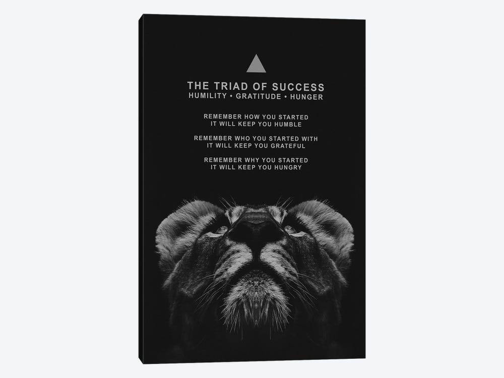 The Triad Of Success by Adrian Baldovino 1-piece Canvas Artwork
