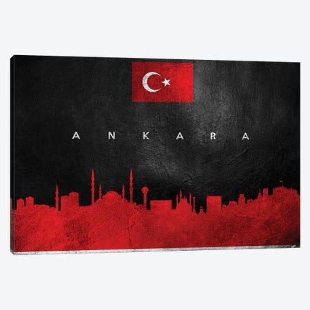 Ankara Turkey Skyline II Canvas Print #ABV158} by Adrian Baldovino Canvas Print