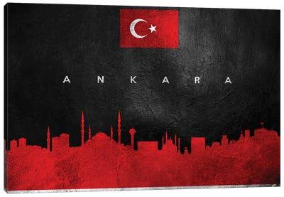 Ankara Turkey Skyline II Canvas Art Print