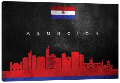 Asuncion Paraguay Skyline Canvas Art Print
