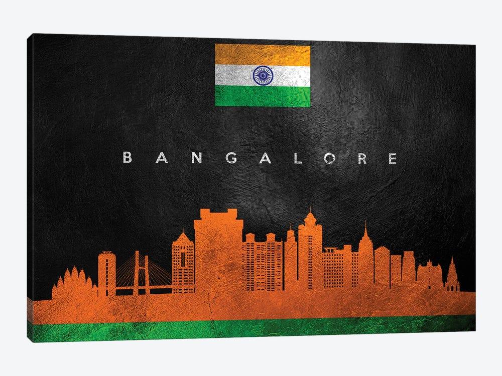Bangalore India Skyline by Adrian Baldovino 1-piece Canvas Art