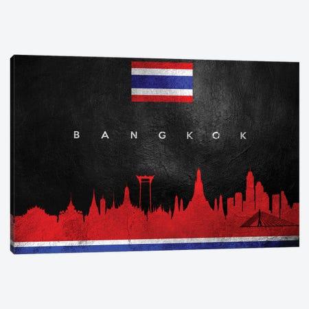 Bangkok Thailand Skyline Canvas Print #ABV166} by Adrian Baldovino Canvas Print
