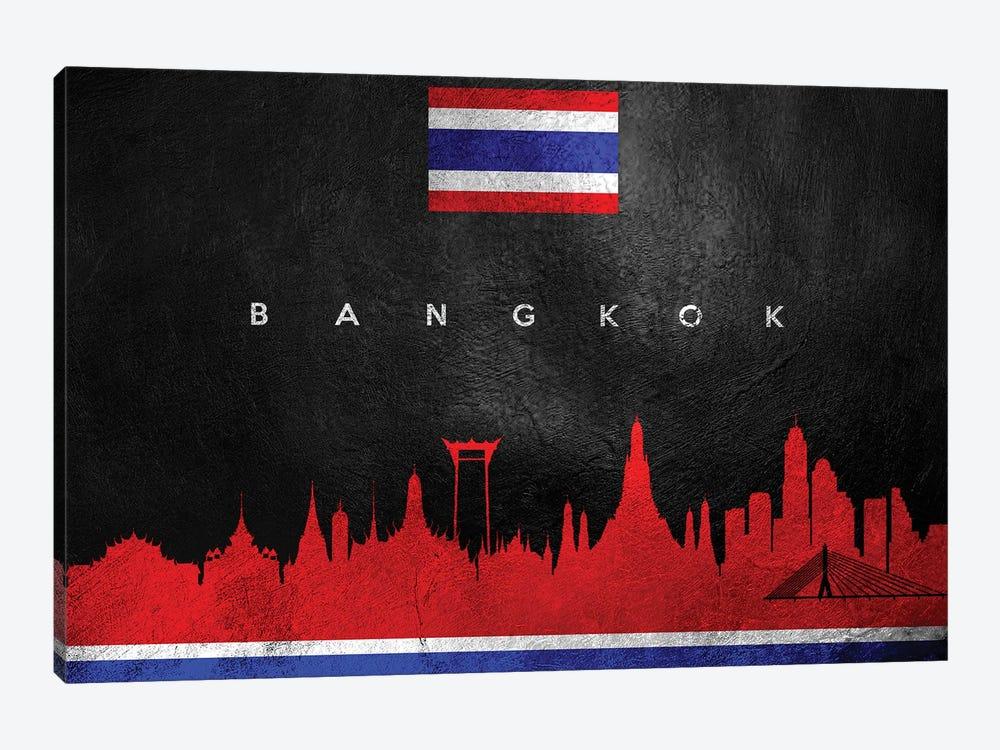 Bangkok Thailand Skyline by Adrian Baldovino 1-piece Art Print