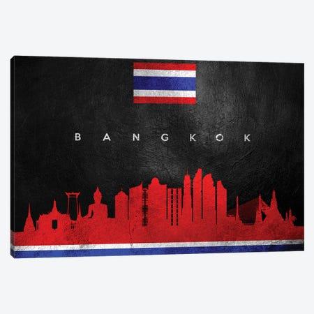 Bangkok Thailand Skyline II Canvas Print #ABV167} by Adrian Baldovino Canvas Art Print