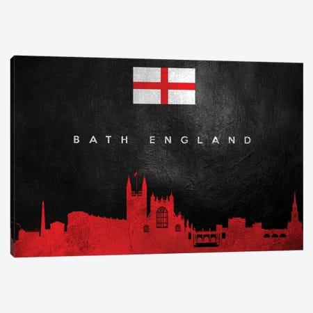 Bath England Skyline Canvas Print #ABV170} by Adrian Baldovino Canvas Art Print