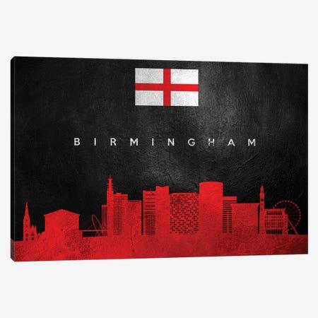 Birmingham England Skyline Canvas Print #ABV178} by Adrian Baldovino Canvas Print