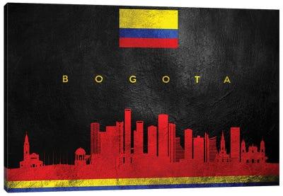 Bogota Colombia Skyline Canvas Art Print