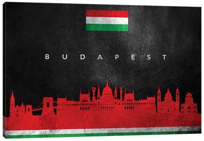 Budapest Hungary Skyline Canvas Art Print