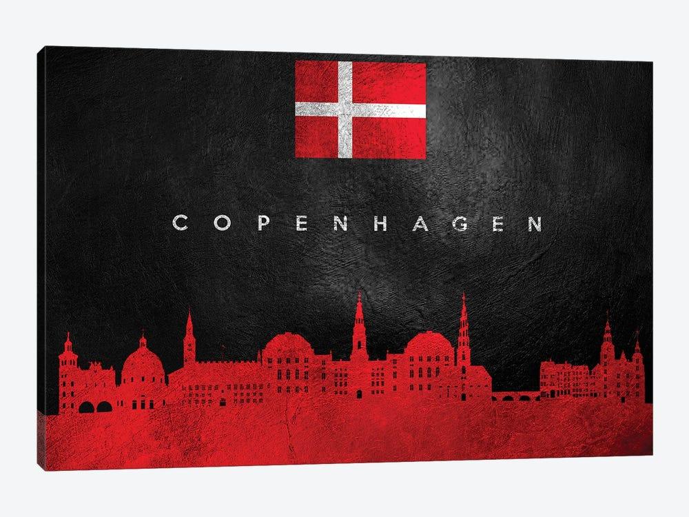 Copenhagen Denmark Skyline by Adrian Baldovino 1-piece Art Print