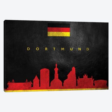 Dortmund Germany Skyline Canvas Print #ABV203} by Adrian Baldovino Art Print