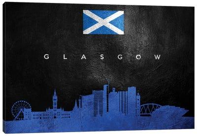 Glasgow Scotland Skyline Canvas Art Print