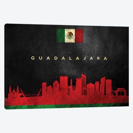 Guadalajara Mexico Skyline Canvas Print #ABV217} by Adrian Baldovino Art Print