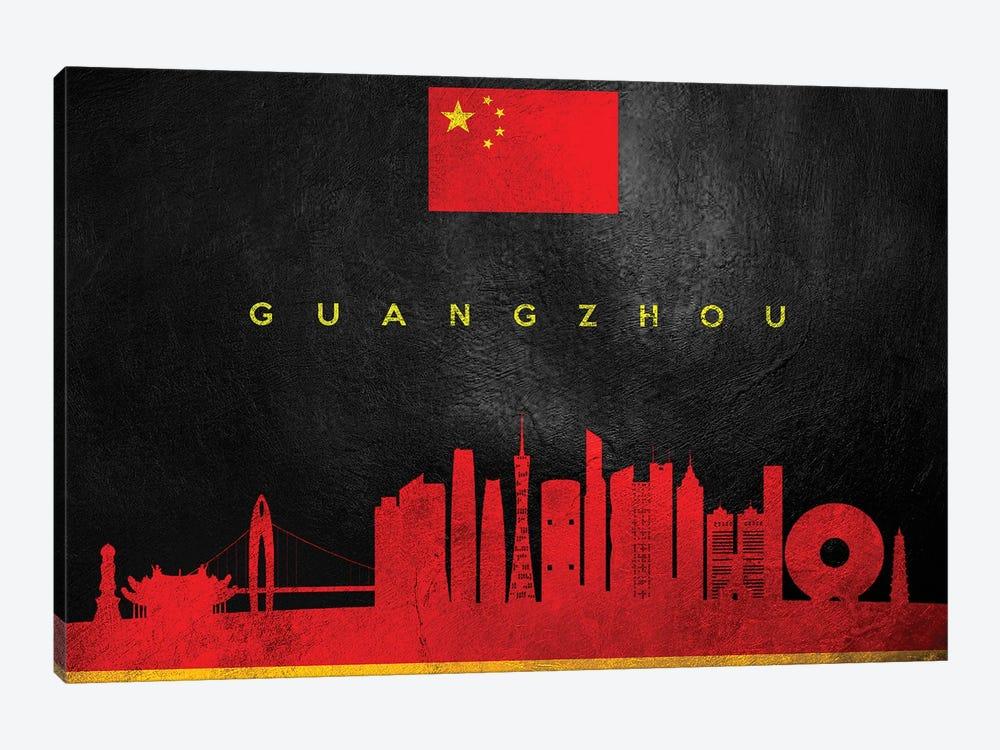 Guangzhou China Skyline by Adrian Baldovino 1-piece Canvas Wall Art