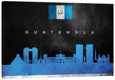 Guatemala Skyline Canvas Art Print